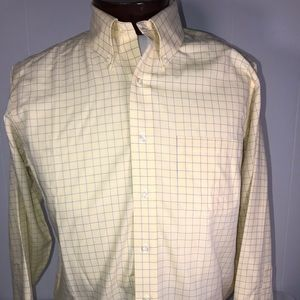 Brooks Brothers Mens Long Sleeve Button Up 15.5-33